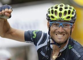 Valverde recorta un poco la ventaja de Contador en Los Lagos