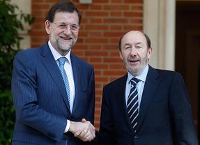 Rajoy y Rubalcaba firmarán un gran 'acuerdo por Europa' antes del 19 de junio