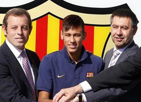 Bartomeu responsabiliza a su antecesor en el Barça el cuestionado contrato de Neymar