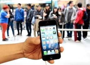iPhone 5: vendidos los primeros terminales en Madrid con Ramón García de ¿artista? invitado