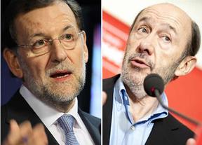 Rajoy y Rubalcaba: primer duelo en el Congreso para hablar de Europa y de las 'contrarreformas'