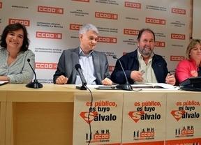 'Es público, es tuyo. Sálvalo': la campaña de CCOO contra los recortes en Castilla-La Mancha