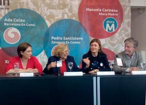 Ada Colau y Manuela Carmena unen fuerzas y claman contra la privatización de servicios públicos