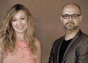Los componentes de Aura: Prado y Luis Pérez