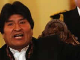 Evo Morales anuncia suspención de la construcción de la carretera por el TIPNIS