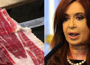 Kirchner ataca de nuevo: los argentinos ya no catarán el jamón ibérico
