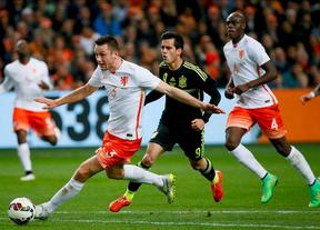 2-0. Holanda resucita ante una España vulnerable en defensa