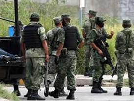 Soldados del Ejército mexicano rescatan a 61 personas que estaban secuestrados