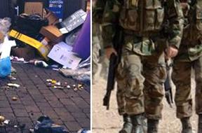 El Ayuntamiento descarta recurrir al Ejército para limpiar las calles de Madrid... por ahora
