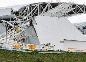 Dos muertos en las obras del estadio Arena de Sao Paulo para el Mundial de 2014