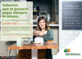 Iberdrola propone a todos sus clientes la cuota fija personalizada