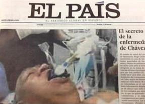 El Gobierno venezolano ejercerá acciones contra 'El País' por la foto falsa de Chávez