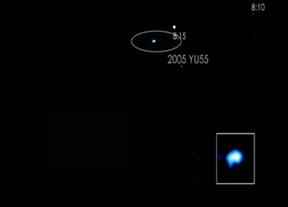 Así es el asteroide que casi chochó con la Tierra