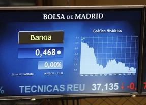 Las acciones de Bankia suavizan su caída al 2,85% tras el informe de los peritos del Banco de España