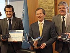 Destacan el trabajo de Aerolíneas Argentina