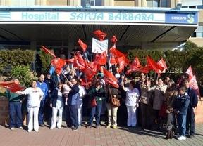 La plantilla de limpieza se moviliza en el Hospital de Puertollano para apoyar a ocho