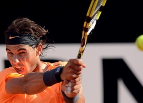 Aplazado hasta el lunes la 'finalísima' entre Nadal y Djokovic en Roma