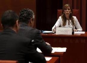 Sánchez-Camacho comparece ante el Parlament sin aclarar quién encargó la grabación de La Camarga
