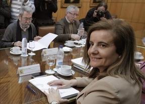 Toxo y Méndez llaman a la movilización el 29-A tras una infructuosa reunión con Báñez