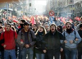 La huelga general se salda con masivas protestas en el Sur de Europa