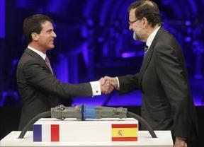 Rajoy asegura ante Valls que la nueva interconexión con Francia bajará el precio de la electricidad