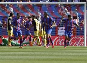 El Levante tumba a un Atleti que vuelve a ser 'Pupas' y pone la Liga al rojo vivo (2-0)