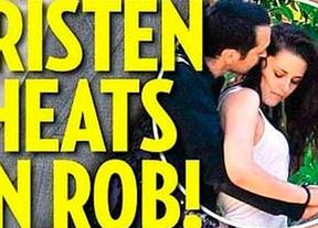 Kristen Stewart engañó a Robert Pattinson con un hombre casado