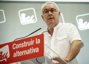 Izquierda Unida convoca el sábado una manifestación oficial el para pedir un referéndum