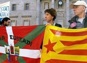 Más de un tercio de los catalanes quiere la independencia, mientras que los vascos sólo llegan al cuarto