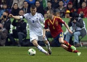 Goliat contra David: ganar o ganar para La Roja en Finlandia y coger el billete a Brasil 2014
