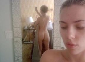 Scarlett Johansson vuelve a hablar de sus fotos desnuda, distintas a las de Adele