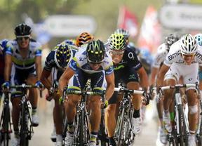 Tour: Joaquín Rojas, a punto de ganar la tercera etapa, que finalmente se llevó Simon Gerrans