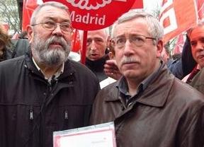 Toxo y Méndez piden a Rajoy que dé 'una vuelta de tuerca' a la política de la UE
