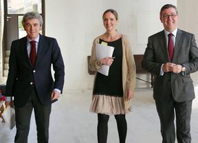 Esteban (i), Casero (c) y Marín(d)