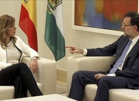 Susana Díaz y Rajoy acuerdan la devolución de 426 millones para Andalucía vía 'plan Juncker'
