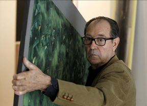 Canogar reivindica la pintura como alternativa de vanguardia