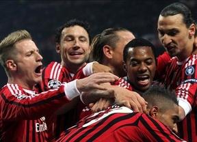 La magia de Robinho e Ibrahimovic destrozan sin piedad al Arsenal en Milán (4-0)
