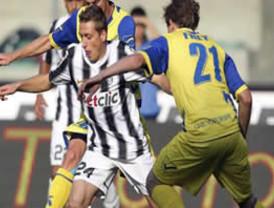 Juventus no pudo ganar a Chievo, pero conserva liderato