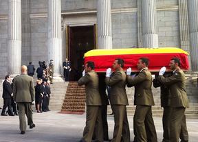 Este martes, honras fúnebres a Adolfo Suárez con presencia de la presidenta de Castilla-La Mancha