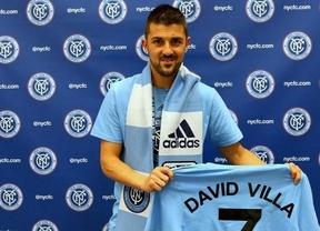 Villa saluda a sus fans en Twitter con la equipación de su nuevo equipo