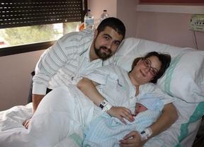 El primer bebé del año en Castilla-La Mancha es de Albacete