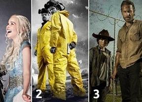 Juego de Tronos, Breaking Bad y The Walking Dead, las series más descargadas de 2013