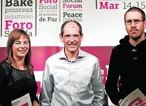 División entre los partidos vascos sobre su asistencia al Foro Social de la paz