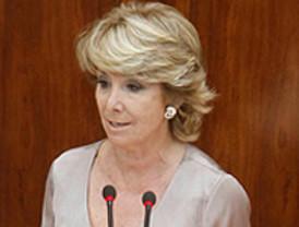 Indignación por la fotografía de Esperanza Aguirre tras ser operada