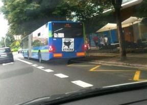 Los autobuses de San Sebastián, escaparate publicitario de ETA