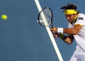 David Ferrer cae con estrépito en Abu Dhabi ante el invencible Djokovic