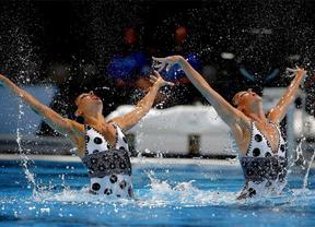 Ona y Crespí apuntan a otra medalla: terceras en el preliminar de la rutina libre del Mundial