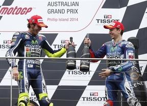 Lorenzo: 'Posiblemente es la segunda posición más afortunada de mi carrera'