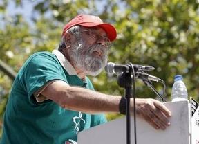 Cándido Méndez pagó los platos de Rajoy: el líder de UGT, increpado tras la manifestación por tomar cañas