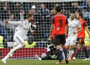 El Real Madrid golea a la Real Sociedad sin echar de menos a Cristiano (4-1)